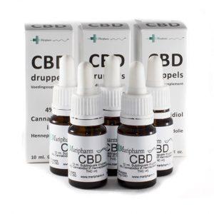 kannabidiol CBD 4%